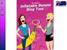 Bachelorette Inflatable Banana Ring Toss Willy Fun Gift Game Hens Night Party