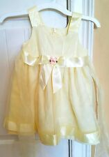 Bonnie Jean 2t yellow Spring summer Easter party dress