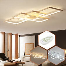 Modern Ceiling Light Led Acrylic Lamp Bedroom Living Room Chandelier with Remote