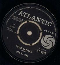 "Ben E King(1st Issue 7"" Vinyl)Seven Letters / River Of Tears-Atlantic-A-Ex/G+"
