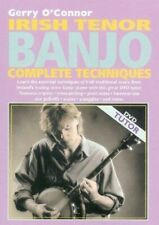 Irish Tenor Banjo DVD  - Complete Techniques - Gerry O'Connor - DVD Tutor