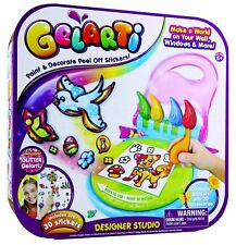 Gelarti Designer Studio Art and Sticker Set Kids - NEW