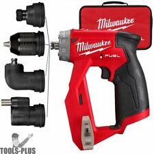 New listing Milwaukee 2505-80 M12 Fuel Installation Drill/Driver 4-in-1 (Tool Only)