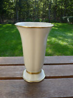 Antique Koenigszelt Rare Gold Gilded Vase 1930 - 1945 Germany