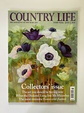New Country Life Magazine UK Collector's Edition Issue June 3, 2020 Art Roses