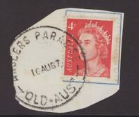Queensland ANGLERS PARADISE 1967 postmark on piece rated S