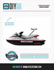 XP RX DI SEA DOO GRAY / SILVER Seat Skin Cover 99 00 01 02 03
