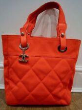 CHANEL Leather Medium Handbags