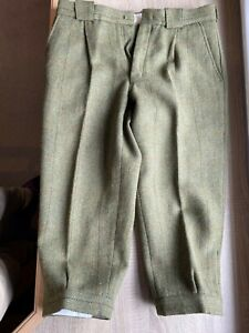 Mens Shooting Trousers Plus Fours Size 34