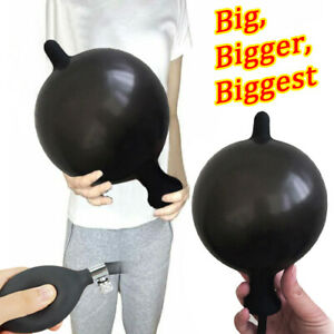 Extra Large Inflatable Extender Anal Butt Plug Silicone Huge Fisting Sex Toy Men