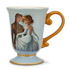 DISNEY DESIGNER FAIRYTALE COUPLE CINDERELLA & PRINCE CHARMING Mug New PRINCESS