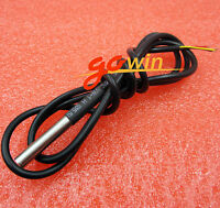 5PCS Waterproof Digital Thermal Probe or Sensor DS18B20 1M Length