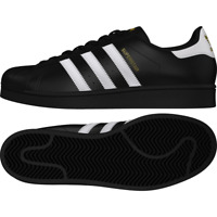 Adidas Shoes Superstar Foundation Black White Black Originals Sneakers