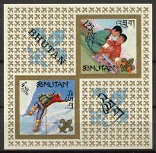 Bhoutan 1967 Mi. Bl. 5 Bloc Feuillet 100% Neuf ** Scout
