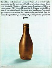 PUBLICITE ADVERTISING 026  1969  Perrier eau minérale par JC DEWOLF 2