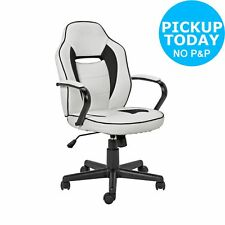 Black Home Mid Back Office Gaming Chair GO27