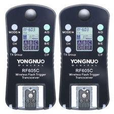 Yongnuo RF605 C Wireless Flash Trigger for YN660 YN560 IV YN560 III RF603II C