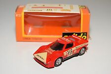 + SOLIDO 27 LANCIA STRATOS RALLY RED MINT BOXED