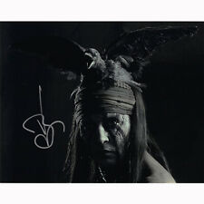 Johnny Depp - The Lone Ranger (32237) - Autographed In Person 8x10 w/ COA