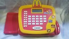 McDonalds Talking Cash Register Electronic Pretend Play 2004 Works Great!