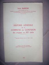 Var: Histoire générale de la commune de Gonfaron: des origines au 20èS, 1976, BE