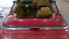 89-91 Maserati TC 3rd Brake Lamp with Chrome Trim Panel OEM Used