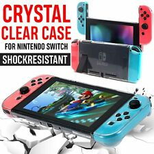 Transparent Clear Shockproof Protective Hard Case Cover Skin For Nintendo Switch