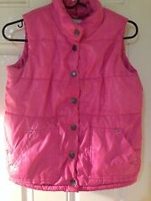 Girls Size 10 12 The Childrens Place TCP Vest Jacket Pink Clothes