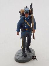Figurine Collection Atlas Soldats Plomb Chasseur à pied 1914 Lead Soldier Figure