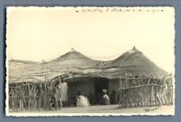 Mali, Hôtel à Fafa  Vintage silver print. Fafa, petit village de Mali Cartolin