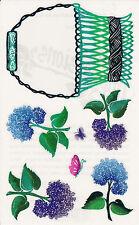 Mrs. Grossman's Giant Stickers - Posh Impressions Hydrangeas - Flower - 2 Strips