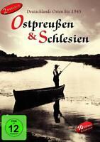 OSTPREUSSEN & SCHLESIEN -DEUTSCHLANDS OSTEN BIS 1945 - HISTORY FILMS  2 DVD NEU