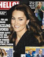 Hello Magazine Kate Middleton Prince William and Harry Millie Mackintosh 2020