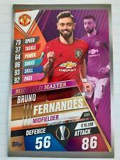 Match Attax 101 Bruno Fernandes XXL Card 2019/20 Mint Condition