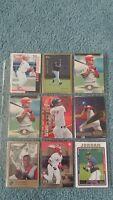 Brian Jordan Baseball Card Mixed Lot approx 42 cards