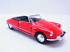 47757 Welly Cabriolet Citroen ID DS 19 CABRIOLET CHAPRON voiture ouverte rouge 1:40 NEUF