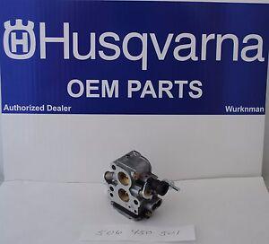 Genuine OEM  Husqvarna Carburetor 506450501  Zama EL 41