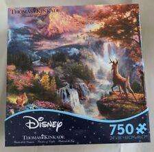 Thomas Kinkade Puzzle Disney Bambi Puzzle 750 Piece Ceaco Puzzle