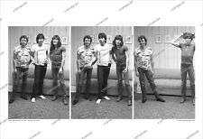Pat Travers Band 3-Frame 1981 Candid Rehearsal Photo Sequence Unpublished/no cd
