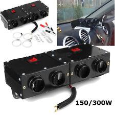 150W/300W Dual Switch Car Dashboard Heater Heating Fan Dryer Defroster Demister