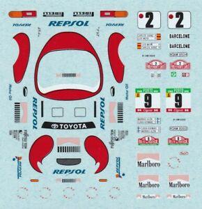 decals Rally Portugal 1/43 - Toyota Celica Turbo 4WD  #9 1992 Alén Markku - Kivi