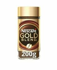 1 x NESCAFE GOLD BLEND (200g) instant coffee  Free And Fast P&P