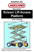 Meccano Model Plan - Scissor-Lift Access Platform