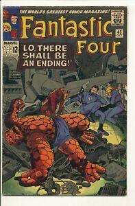 Fantastic Four #43 Oct 1965  Marvel Frightful Four