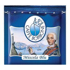 300 CIALDE IN FILTRO CARTA CAFFE' BORBONE MISCELA BLU ESE 44MM FRESCHE ORIGINALI
