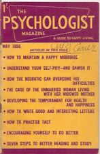 the PSYCHOLOGIST magazine-MAY 1959-a guide to happy living.
