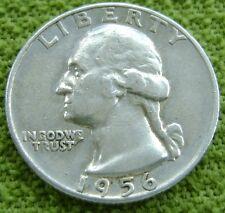 USA - Amerika 1956 D Washington Quarter Dollar, 25 cents 1956 D. Silver.