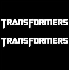 "TRANSFORMERS 5"" STICKER VINYL DECAL VEHICLE CAR WALL LAPTOP"