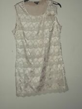 Primark Ivory Lace Dress Size 12 BNWT