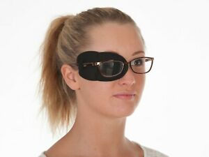 Medical Adult Eye Patch for Glasses LARGE Soft, Washable Sold to the NHS